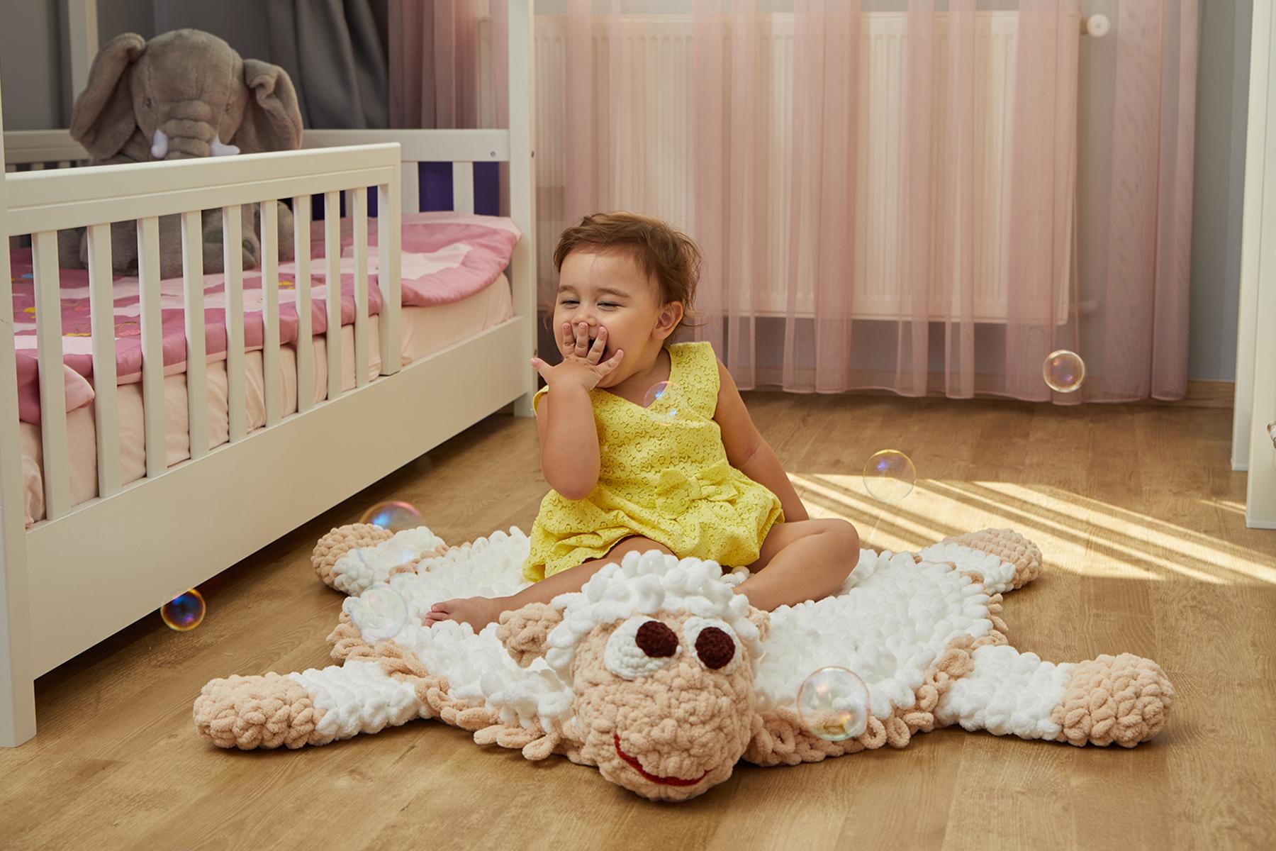 Kuzu Dolly Bebek / Çocuk Odası Yer Kilimi